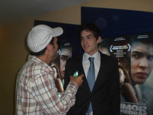 E plena entrevista con el Actor Chistian Gonzalez