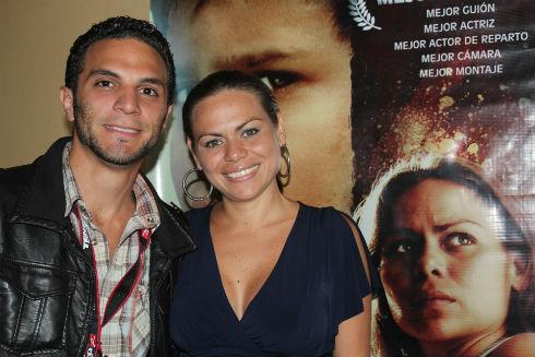 Rossana Fernandez y nuestro conductor Frank Garcia