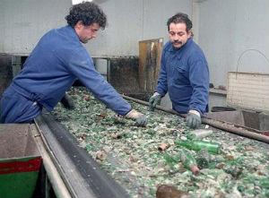 El vidrio es 100% reciclable