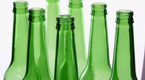 Reciclar botellas de cerveza