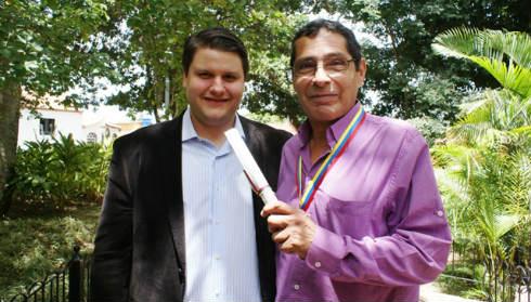 Eduardo Battistini y Carlos Ghersi