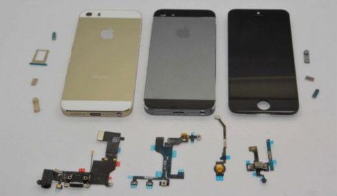 iphone 5S carcasa grafito