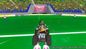 """El """"Chavo Kart"""" es un videojuego de carreras de autos en las que participan los personajes de la vecindad."""