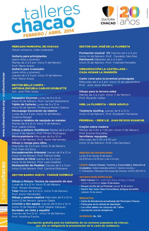 Programación-TALLERES-CHACAO-feb-abr-2014-tabloide