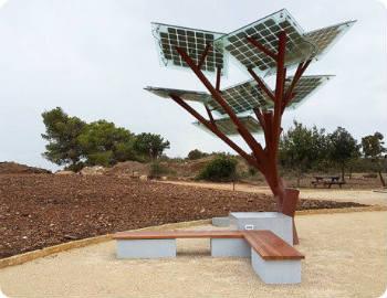eTree-una-novedosa-estación-solar-para-recargar-dispositivos