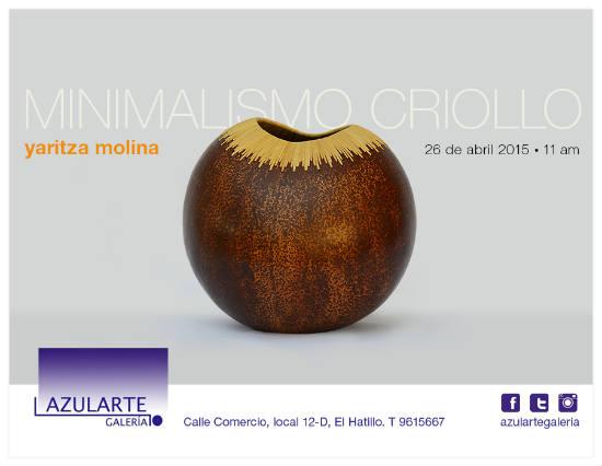 Invitación Minimalismo Criollo Oficial