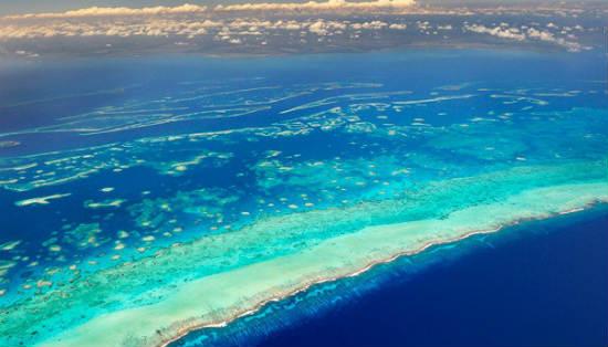 Arrecife Mesoamericano, foto de National Geographic.