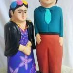 Frida en Madera 4