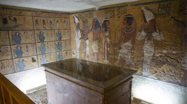 Reconstrucción de la tumba de Tutankamón / Factum Arte ©