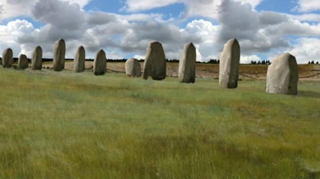El sitio es cinco veces más grande que Stonehenge.