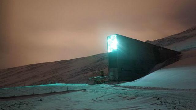El banco está ubicado a 130 metros por encima del nivel del mar. Imagen: AP