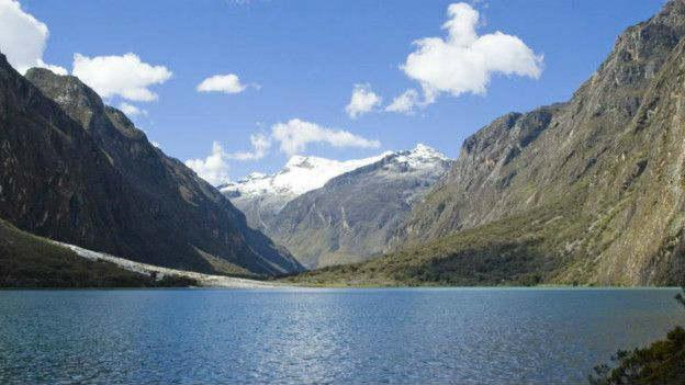Las reservas de agua podrían no alcanzar para la población que habita cerca del Parque Nacional Huascarán, en Perú. Imagen: MARTIN NECKTRU, UNESCO