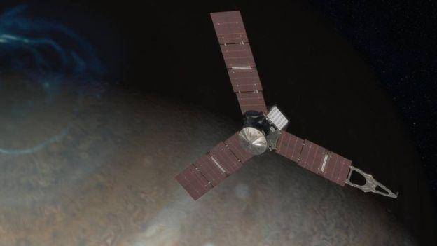 Juno acompañará a Júpiter por 20 meses para descubrir sus secretos. Imagen: Reuters
