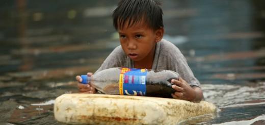 Foto archivo tifón Manila (Filipinas.EFE/Francis R. Malasig