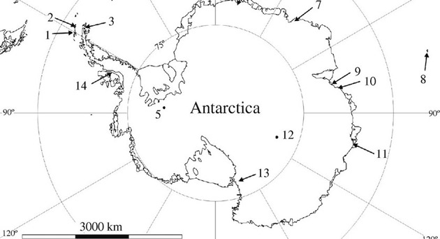 Antartida-lagos