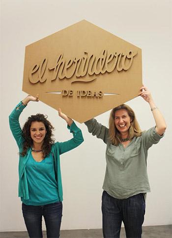 Detrás de El Hervidero de Ideas, se encuentran María Negro y Beatriz González, fundadoras de esta empresa creativa. Imagen: EFE