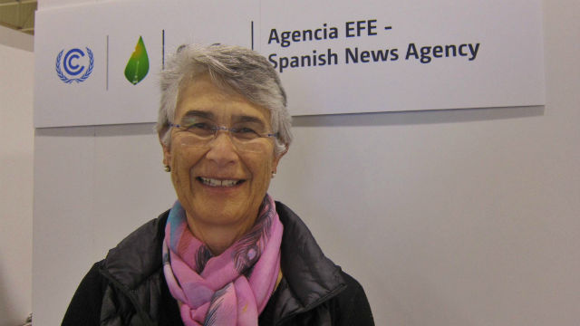 La presidenta de WWF Internacional, Yolanda Kakabadse. EFE/Caty Arévalo