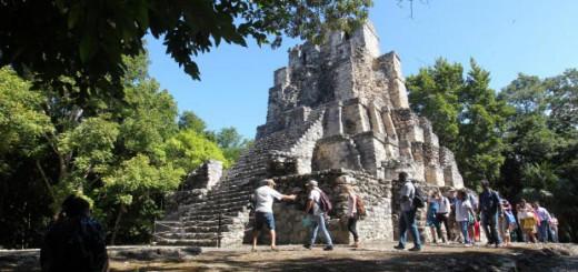 El ecoturismo permite vivir desde hace 16 años a una comunidad maya de México. EFE/A. Cupul