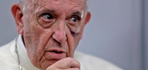 Para dar cuenta de la inmediatez del cambio climático el papa Francisco hizo referencia al deshielo en el Polo Norte. Imagen: Reuters