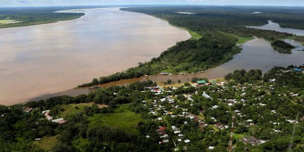 Foto archivo de Puerto Nariño (Colombia). EFE/LEONARDO MUÑOZ